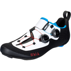 Fizik Transiro Infinito R1 Knit Triathlon Shoes black/white
